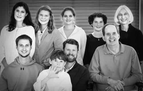 Heinfamilyportraitbw