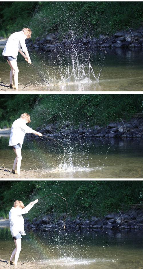 Sticksplashes